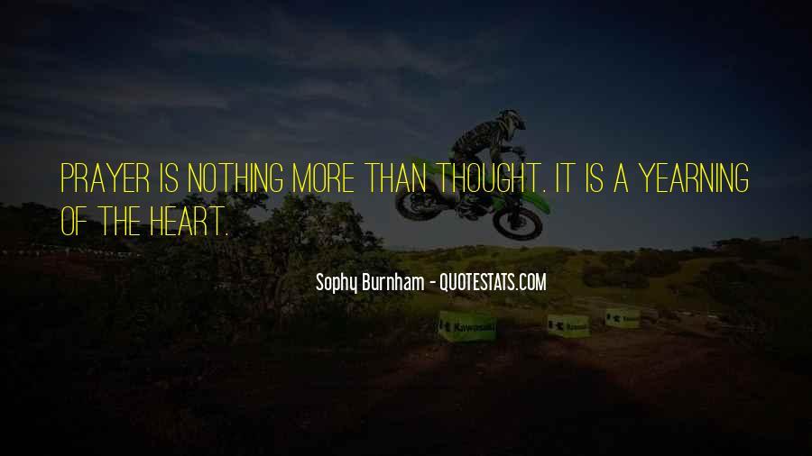 Sophy Burnham Quotes #1472382