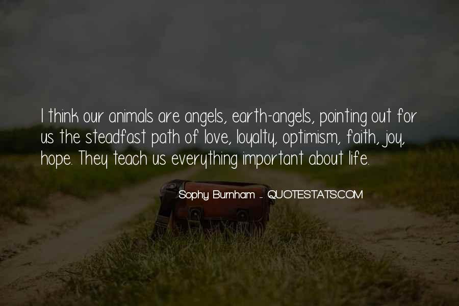 Sophy Burnham Quotes #348383