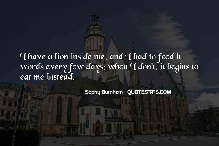 Sophy Burnham Quotes #461079