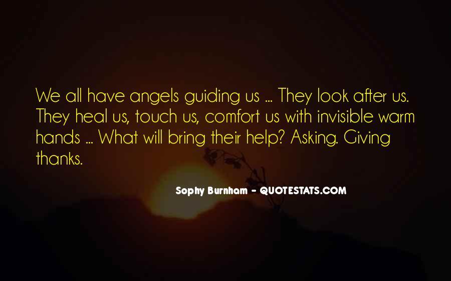 Sophy Burnham Quotes #814392