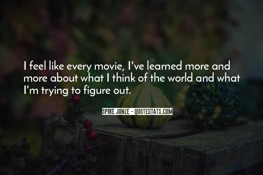 Spike Jonze Quotes #1271703