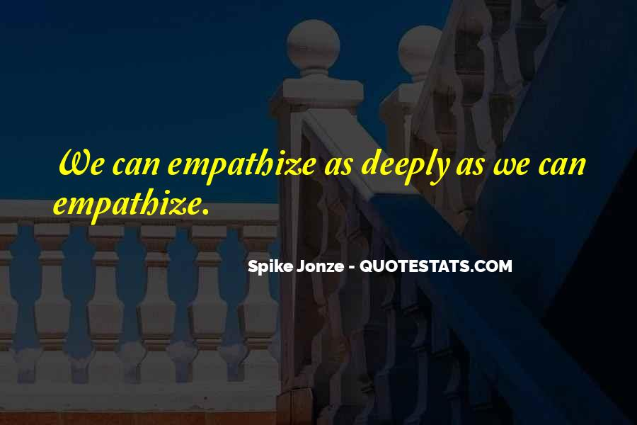 Spike Jonze Quotes #1701332