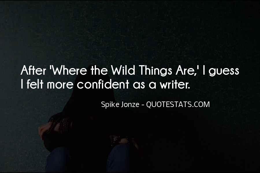Spike Jonze Quotes #507949