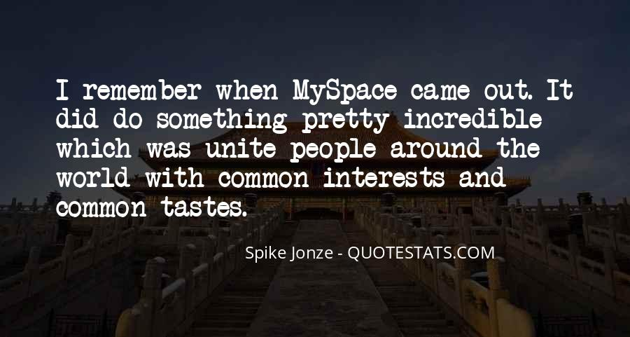 Spike Jonze Quotes #646537