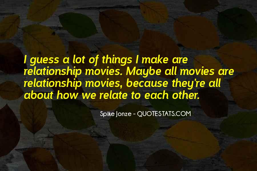 Spike Jonze Quotes #754104
