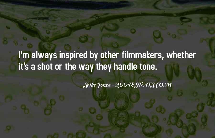 Spike Jonze Quotes #955363