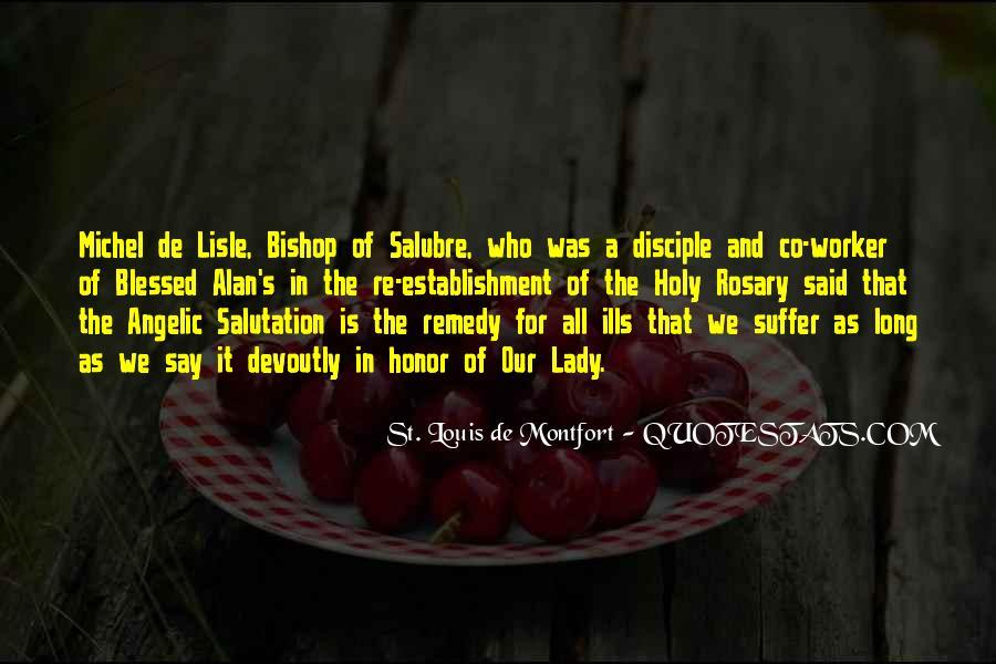 St. Louis De Montfort Quotes #1564345