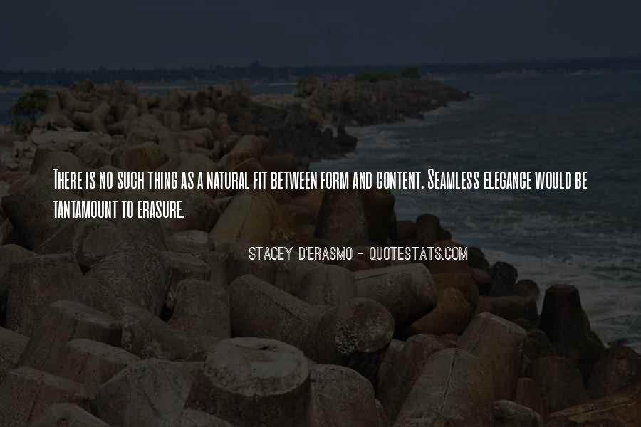 Stacey D'Erasmo Quotes #1571747