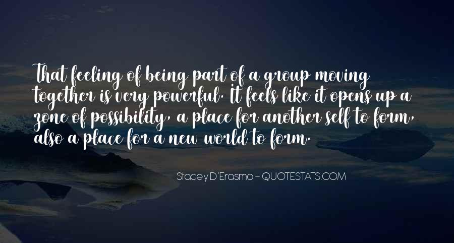 Stacey D'Erasmo Quotes #395877