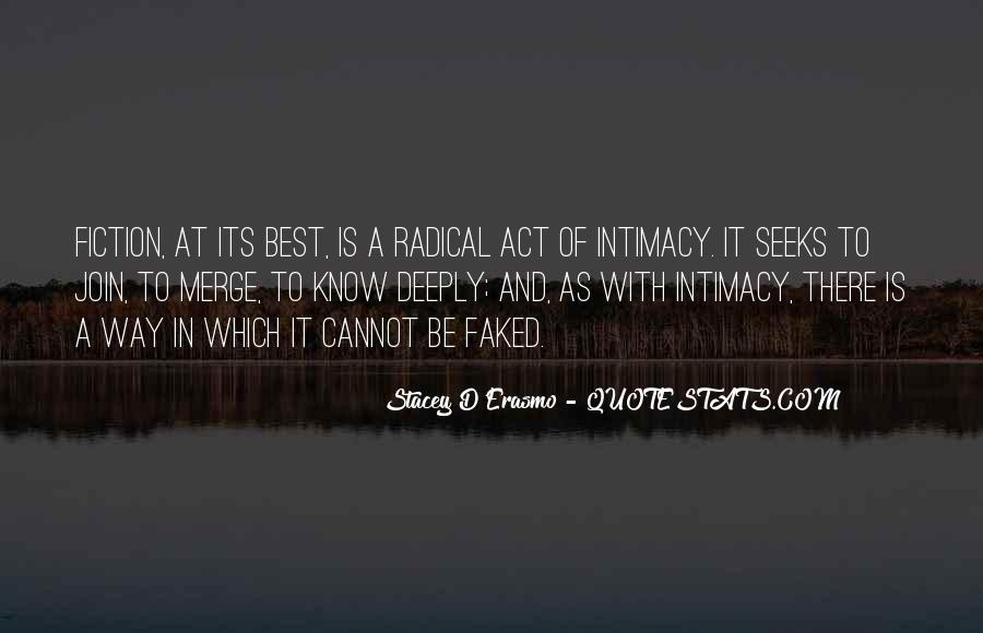 Stacey D'Erasmo Quotes #929091