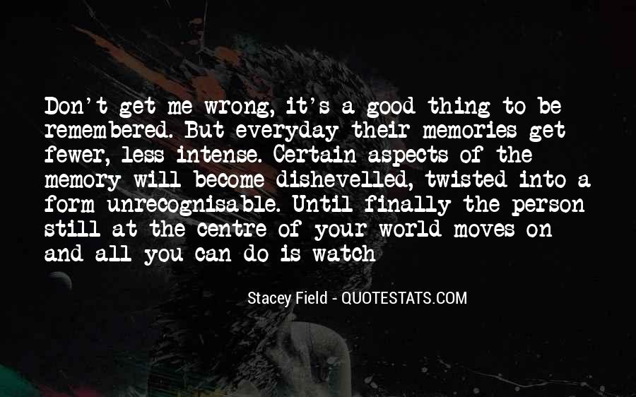 Stacey Field Quotes #1175445