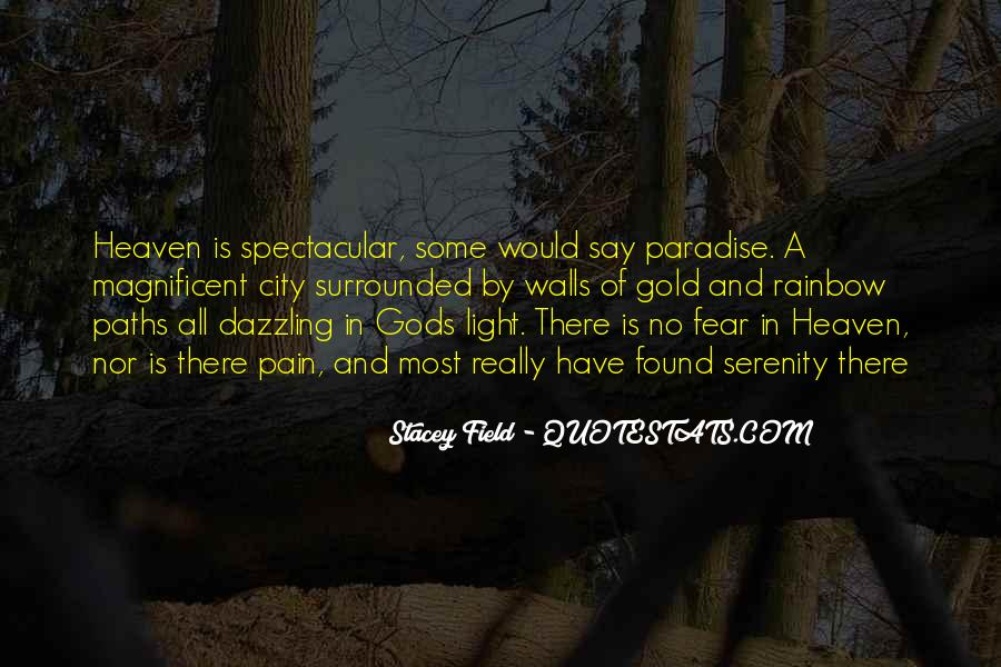 Stacey Field Quotes #1276960