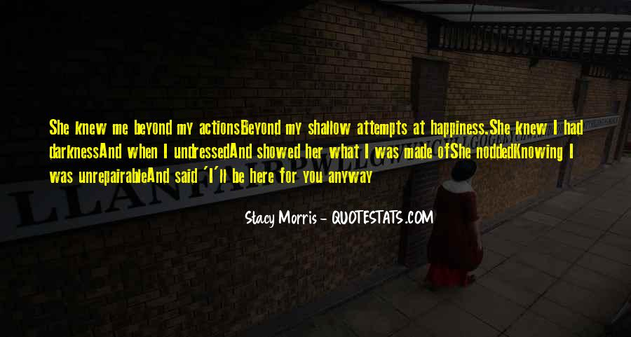 Stacy Morris Quotes #306477