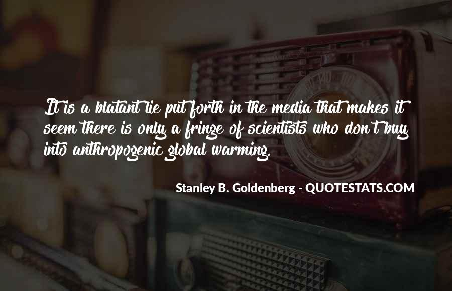 Stanley B. Goldenberg Quotes #621714