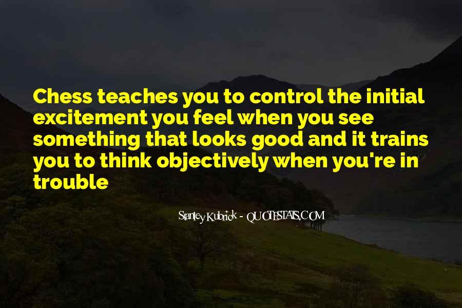 Stanley Kubrick Quotes #1356923