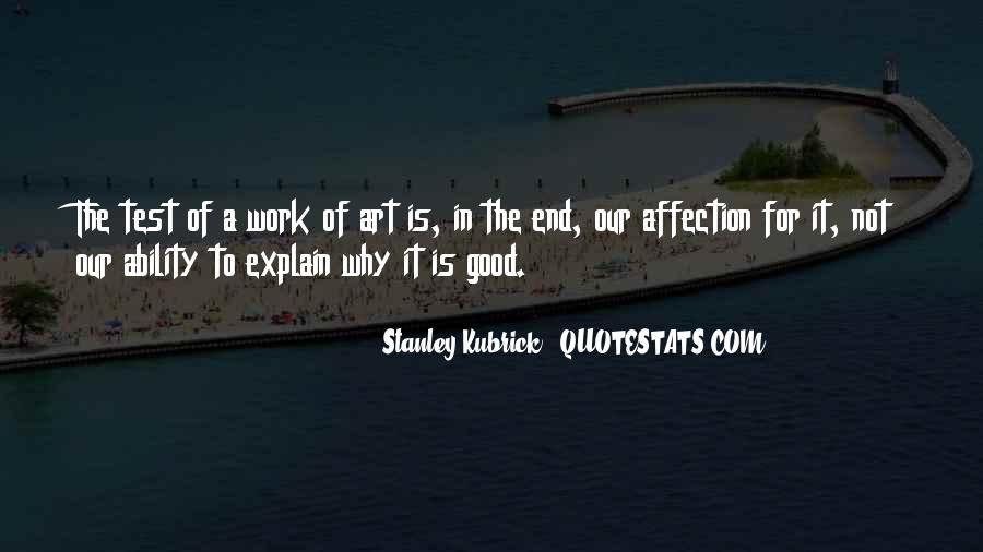 Stanley Kubrick Quotes #201170