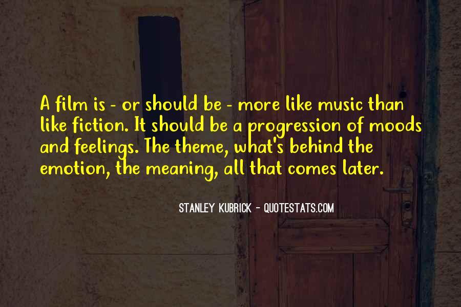 Stanley Kubrick Quotes #288341