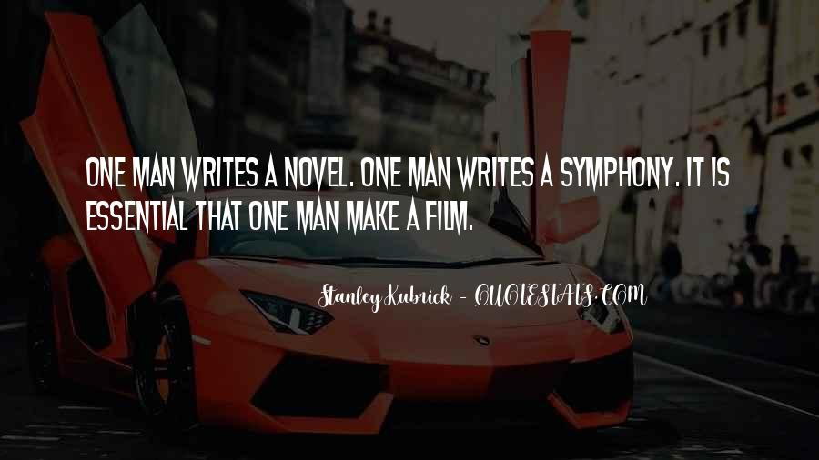 Stanley Kubrick Quotes #383900
