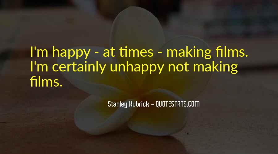 Stanley Kubrick Quotes #493269