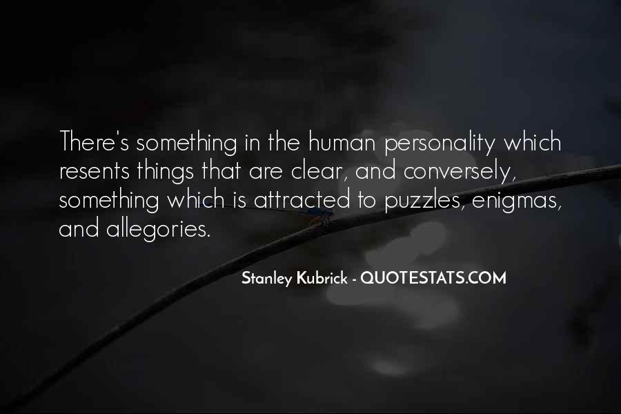 Stanley Kubrick Quotes #600436