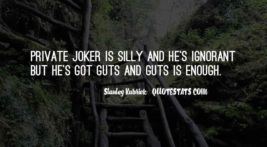 Stanley Kubrick Quotes #7190