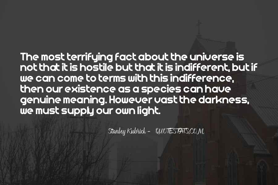 Stanley Kubrick Quotes #954626