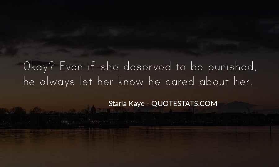 Starla Kaye Quotes #12684