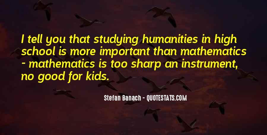 Stefan Banach Quotes #903618