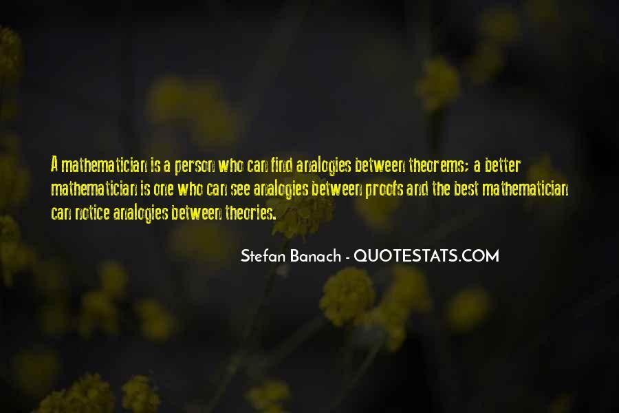 Stefan Banach Quotes #931390