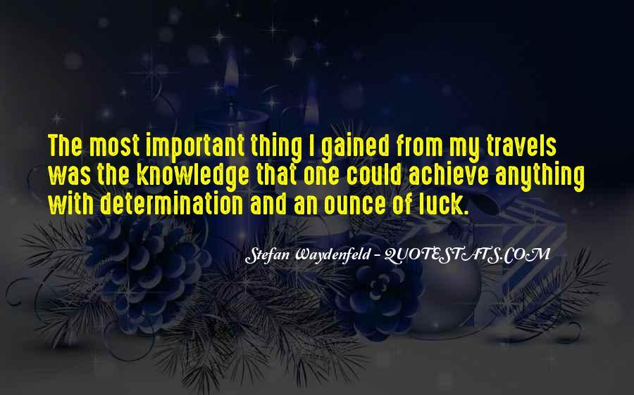 Stefan Waydenfeld Quotes #124018