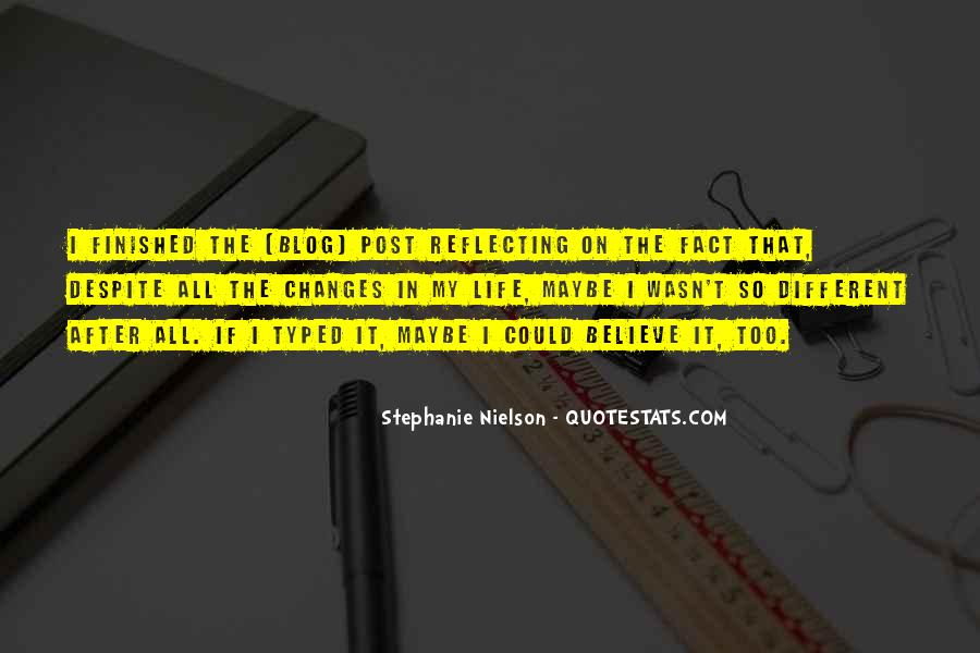 Stephanie Nielson Quotes #1250548