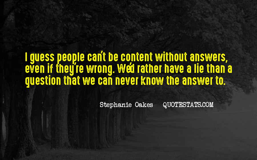 Stephanie Oakes Quotes #1254115