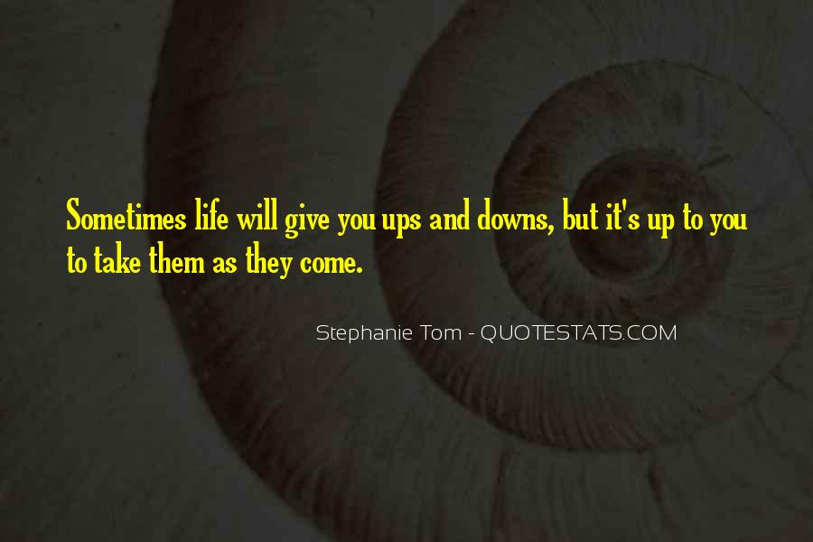 Stephanie Tom Quotes #1029467