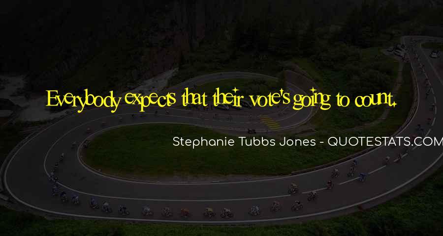 Stephanie Tubbs Jones Quotes #1363143