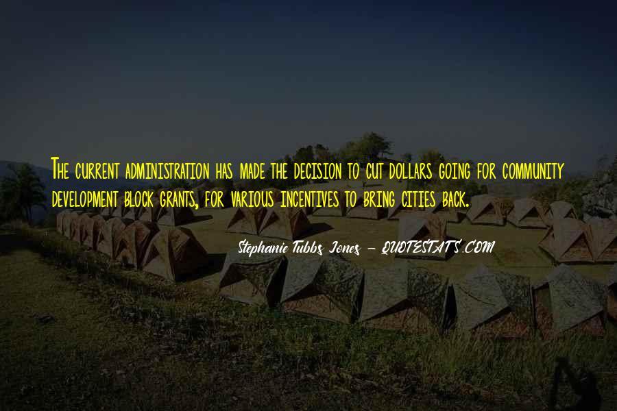 Stephanie Tubbs Jones Quotes #1415619