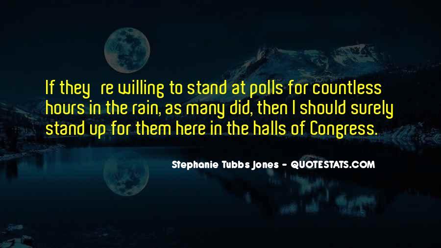 Stephanie Tubbs Jones Quotes #1797189