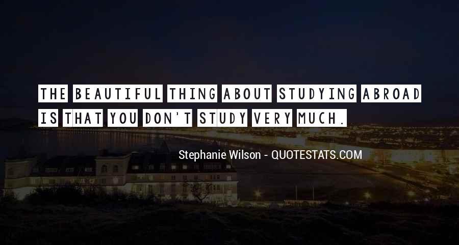 Stephanie Wilson Quotes #1569277