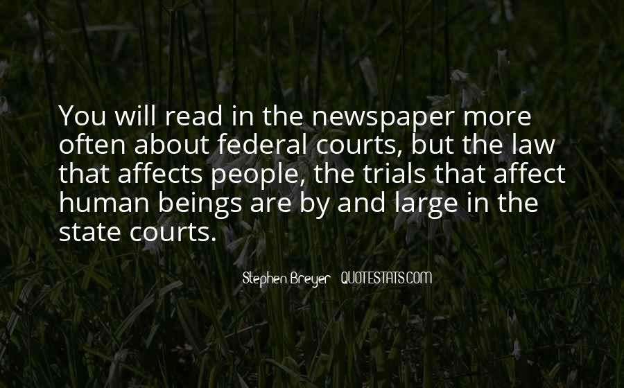Stephen Breyer Quotes #1017709