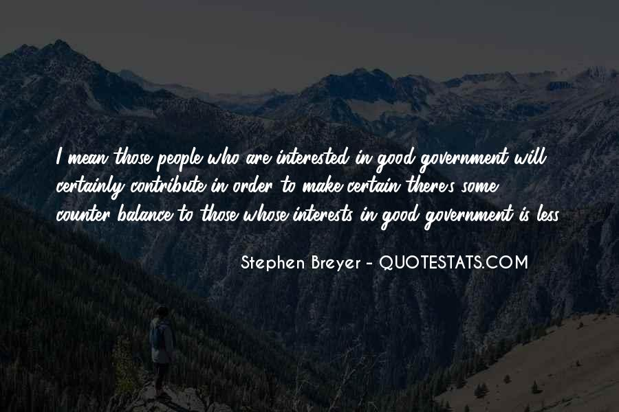 Stephen Breyer Quotes #1129085