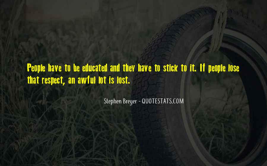 Stephen Breyer Quotes #915724