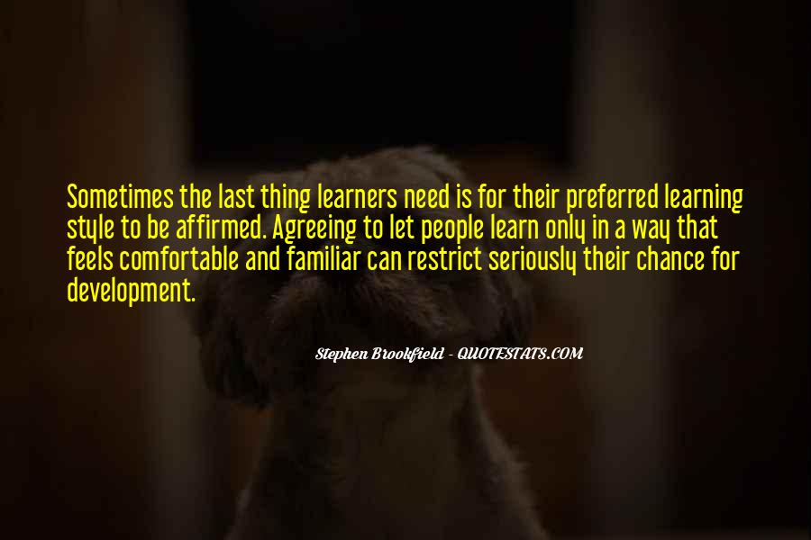 Stephen Brookfield Quotes #1666961