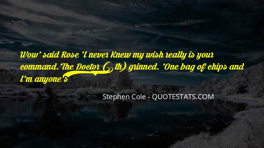 Stephen Cole Quotes #277141