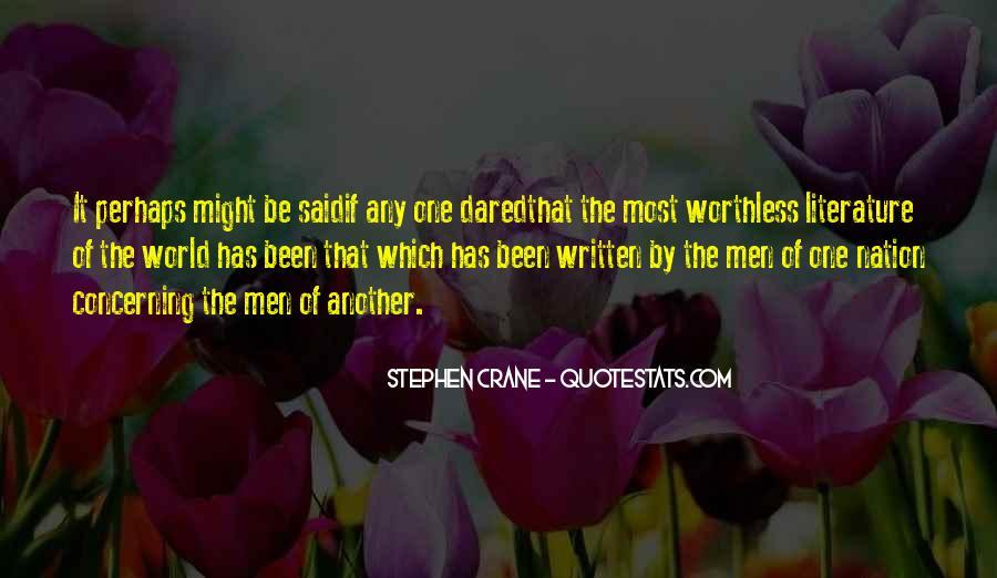 Stephen Crane Quotes #235321