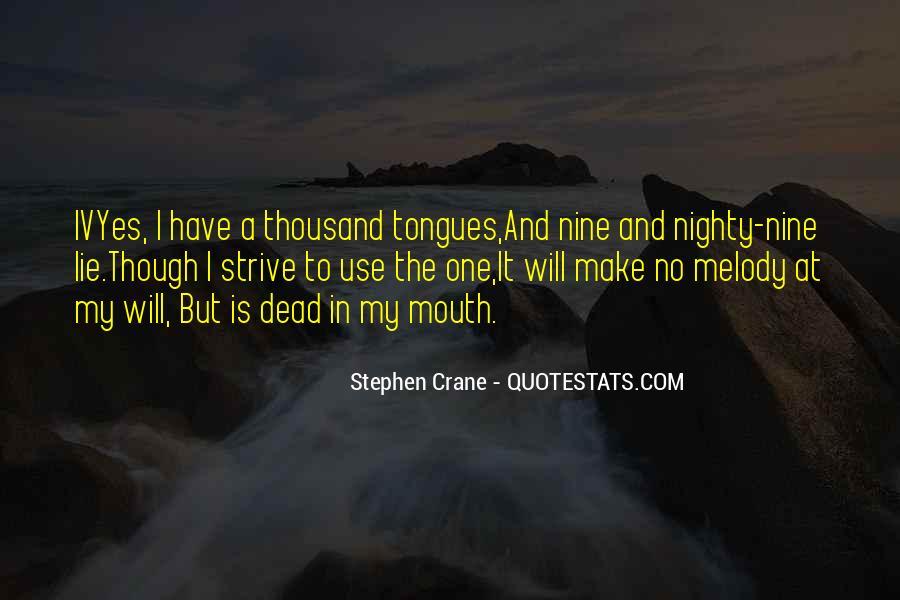 Stephen Crane Quotes #359269