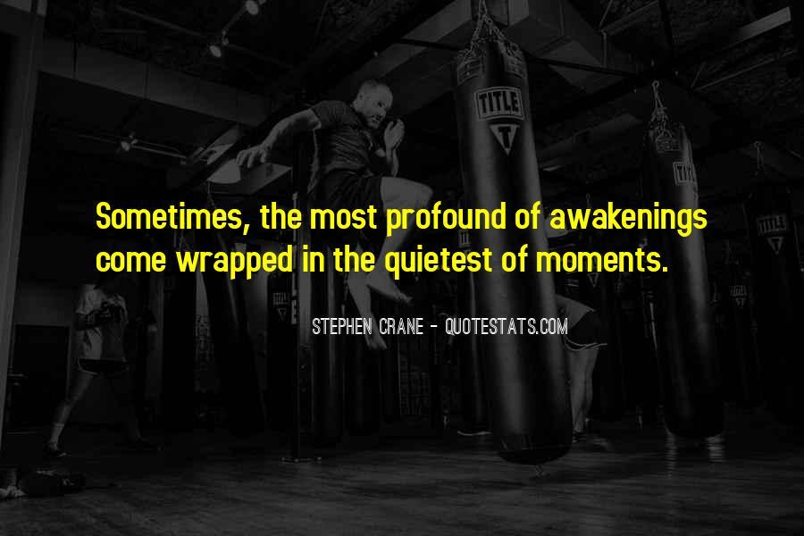 Stephen Crane Quotes #56531