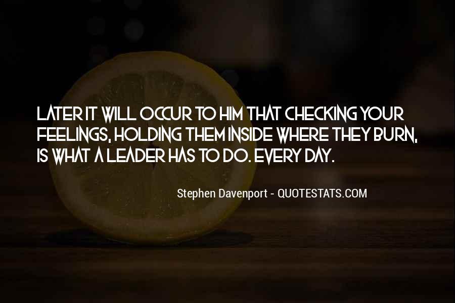 Stephen Davenport Quotes #124299