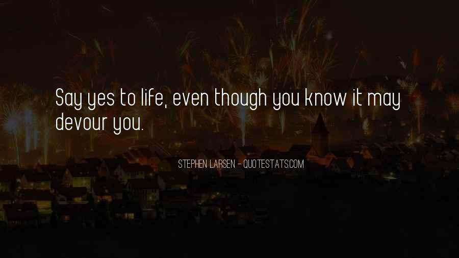 Stephen Larsen Quotes #1009140