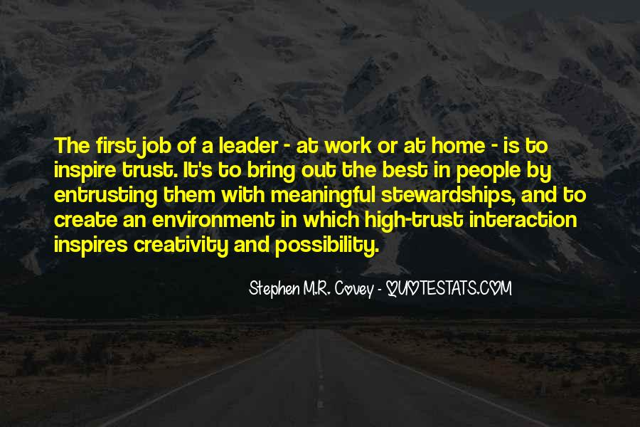 Stephen M.R. Covey Quotes #605406