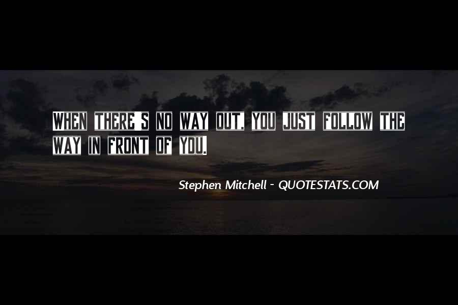 Stephen Mitchell Quotes #1274770