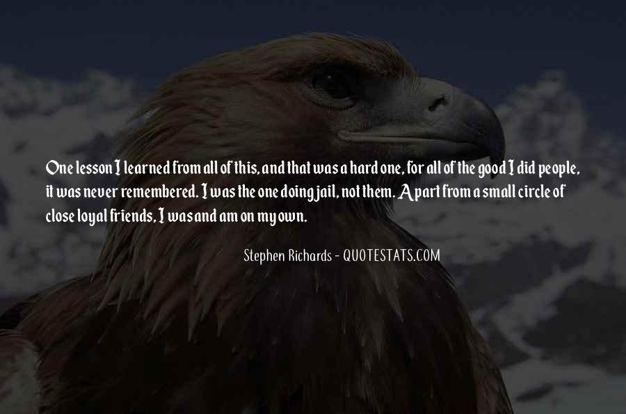 Stephen Richards Quotes #1251161